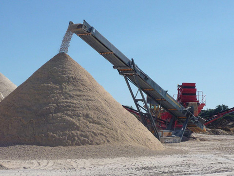 SpecDrum provide products for the Quarry Industry